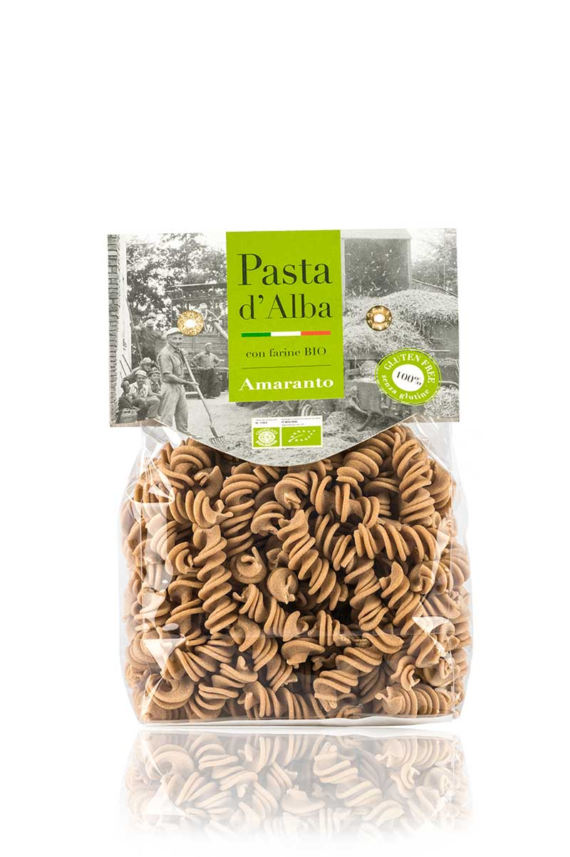 Fusilli di Amaranto Bio Senza Glutine