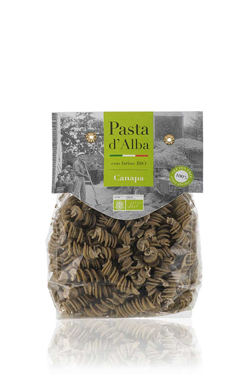 Fusilli alla Canapa Bio Senza Glutine