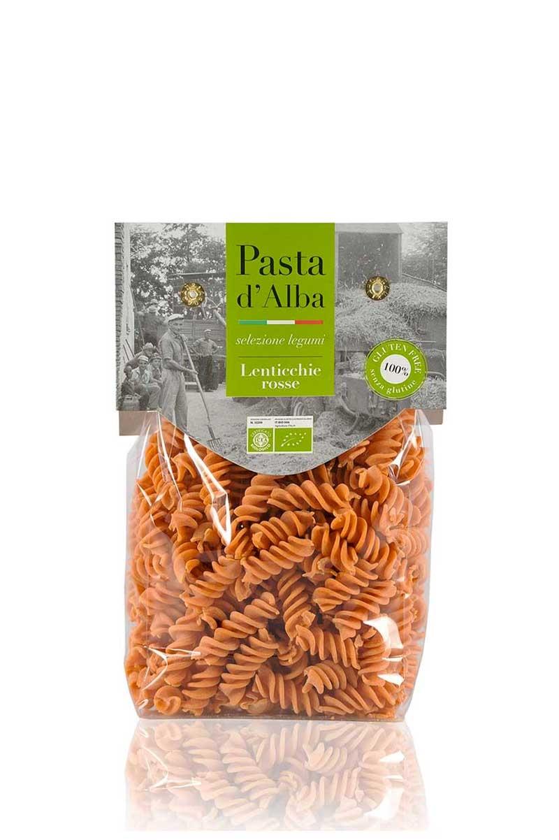 Organic Gluten Free Red Lentils Fusilli
