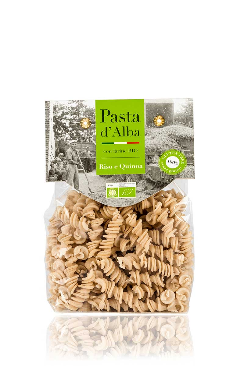 Fusilli di Riso e Quinoa Real® Bio Senza Glutine