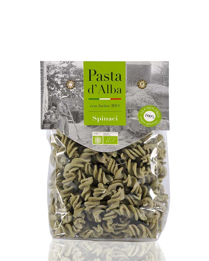 Fusilli agli Spinaci Bio Senza Glutine