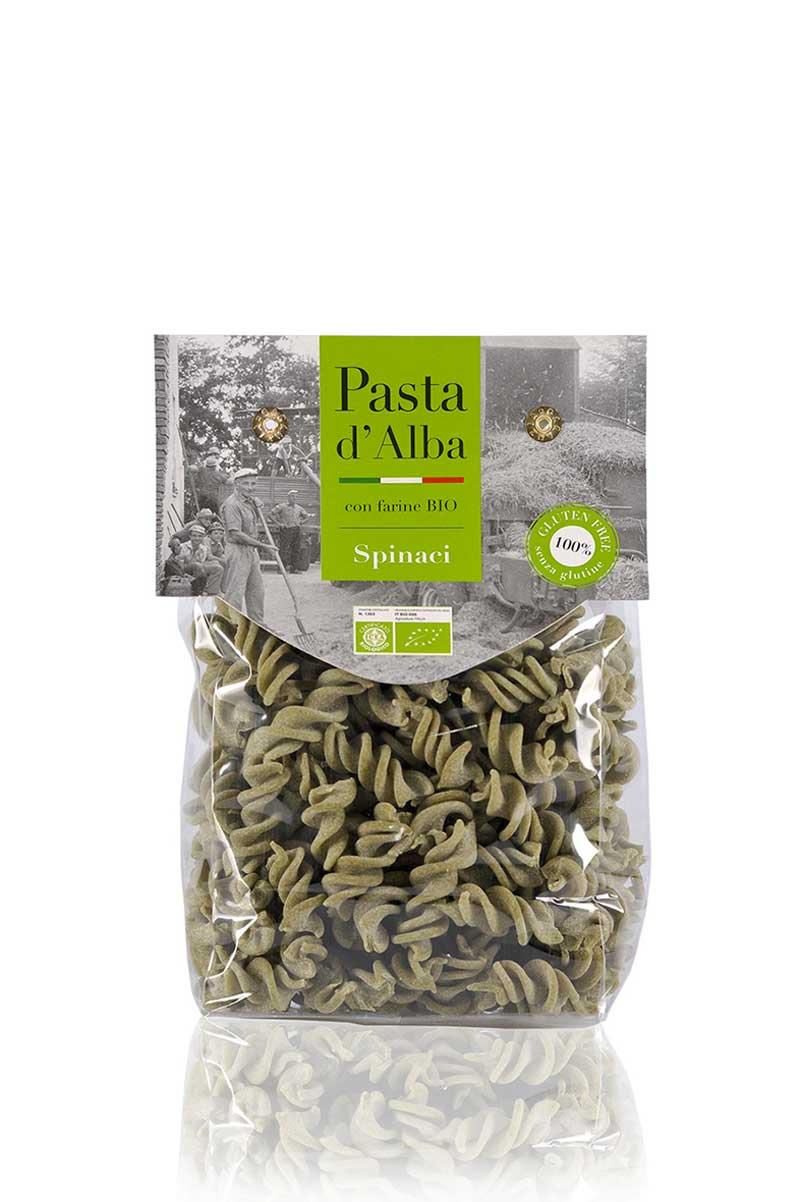 Fusilli agli Spinaci Bio Senza Glutine
