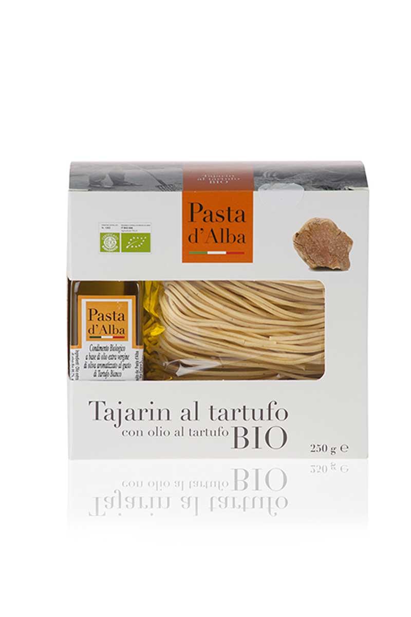 Tajarin al Tartufo con olio extravergine di oliva al Tarfufo bianco d'Alba